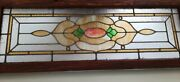 Vintage Antique Stained Glass Window /panel - Beautiful-colorful