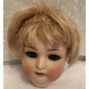Antique Bisque Doll Head Germany 39 Doll Repair Part