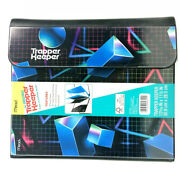 Mead Trapper Keeper Binder 1 Round 2 Folders Retro Style Shapes 2021