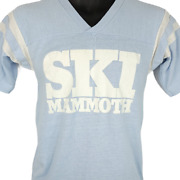 Ski Mammoth Mountain T Shirt Vintage 80s Skiing Resort Made In Usa Size Small