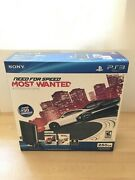 New Sony Playstation 3 Super Slim 250gb, Factory Sealed, Need For Speed Bundle
