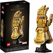 Lego Marvel 76191 Infinity Thanos Gauntlet Collectible Building Kit