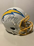 Joey Bosa Signed Chargers Full Size Speed Helmet Beckett