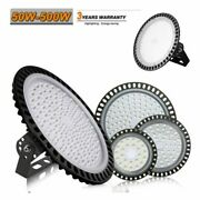 Ufo Led Light High Bay Cool White Warehouse Exhibition Hall Industrial Lighting