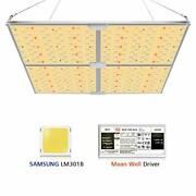Mixjoy Gl-4000a Led Grow Light With Samsung Lm301b Diodesandmeanwell Driver, 450w