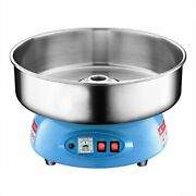 Compact Commercial Cotton Candy Machine Party Candy Floss Maker Blue