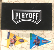 -- Rare -- 1997 Gold Jumbo Complete Set 192 Gold Pennants With Playoff Box