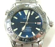 Omega Seamaster Automatic Mid-size Stainless Steel Watch