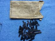 Lionel Postwar Parts 110 Trestle Clips For 027 Track With Packet