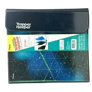 Mead Trapper Keeper Binder 1 Round 2 Folders Space New 2021