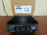 Rm Italy Kl203p New Edition 25-30 Mhz Amplifier 100 Watts. From Illinois Usa