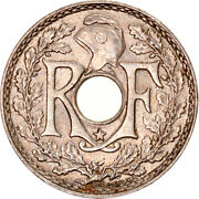 [970401] Coin, France, Lindauer, 5 Centimes, 1938, Etoile, Ms, Nickel-bronze