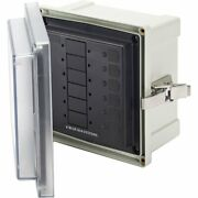 Blue Sea 3113 Sms Surface Mount System Panel Enclosure 6 Circuit Blank 3113