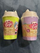 Series 2 Kitten Catfe Purrista Girls Mystery Pack Cafe Doll In Hand - Lot Of 2