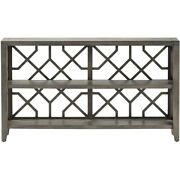 Courtland Console Table Wood Gray