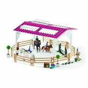 Riding School Horses And Riders Play Set - Horse Club - Schleich - 42389 New