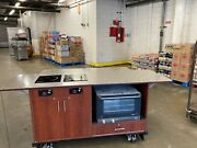 Demo Food Cart With Duel Cooktops