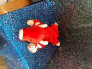 Rare Ty Beanie Baby 1995 Snort The Bull Plush Toy Excellent Conditionandnbsp