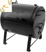 Char-griller E82424 Smoker Side Fire Box Portable Charcoal Grill, Black