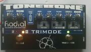 Radial Tonebone Trimode Distortion Pedal Effects W/power Cord
