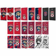 Official Nhl Florida Panthers Leather Book Case For Samsung Galaxy Tablets