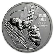 Australia Lunar Iii Year Of Mouse Year Of The Mouse 2020 2 Oz Silver Coin