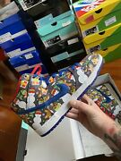 Nike Sb Dunk High Pro X Concepts Ugly Christmas Sweater Size 10.5