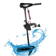 1.6hp 24v Electric Outboard Motor 1152w Brush Fishing Boat Engine Propeller Us