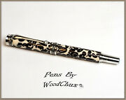 Pen Handmade Writing Ball Point Fountain Coffee And Cream Pens See Video 1270a