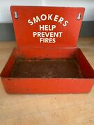 Smokers Help Prevent Fires Tray