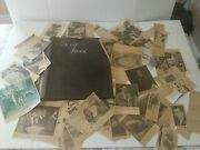 Vintage Scrapbook With Magazine And Newspaper Clippings Early 1900s To 1960s