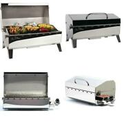 Portable Propane Gas Stow And Go 160 Grill In Stainless Steel