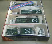 Branchline Ho 4-pak Ontario Northland 40' Boxcars 90073, 90392, 90440 And 90503