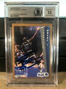 Shaquille Oand039neal 1992-93 Fleer Rookie 401 Auto Bgs Bas 10 Autograph Qty Avail
