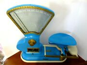 Antique 1899 Toledo 10 Lb Fan Scale General Candy Store Early 1900and039s With Tray