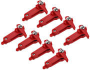 Pack Of 8 Heavy Tension Snapper Weight Release Clip Downrigger Outrigger Release