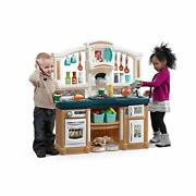 Step2 Fun With Friends Kitchen | Large Plastic Play Kitchen With Realistic Light