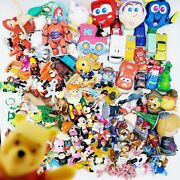 Disney Toy Lot 165 Figures Toy Story Mickey Minnie Lion King Pixar Cars No Mcds