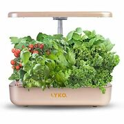 Hydroponics Growing System Lyko 12pods Indoor Herb Garden With Led Light Cycle T