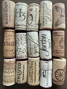 Premium Recycled Variety Natural Used Wine Corks Lot Of 100
