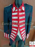 Napoleonic Revolutionary War British Military Officers Tunic Frock Coat And Vest