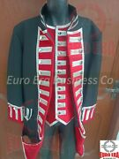 Napoleonic Revolutionary War Royal Military Officer Tunic Frock Coat And Vest