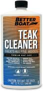 Better Boat Teak Cleaner For Teak And Other Fine Woods Boats Cleaning Marine Sta