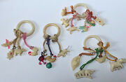 Lot Of 17 Vintage 1940's Cracker Jack Gumball Celluloid Charms Toy Prize Premium