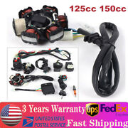 Gy6 125cc 150cc Electric Wiring Harness Kit For Go Kart Atv Quad Scooter 4 Wheel
