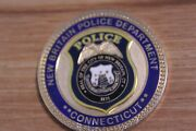 New Britain Department Police Connecticut Challenge Coin
