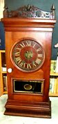 Vintage American Walnut Weight Driven Clock-circa 1845-55- Unnamed