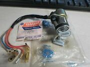 Nos Yamaha Oem Main Switch Assembly With 3 Keys 2613 73-74 Tx500 371-82508-70