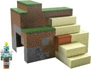 Mattel Collectible - Minecraft 3.25 Sustainable Playset [new Toy] Action Figur