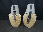 Vintage Military Canteens Water Jugs Lot 2 Pc